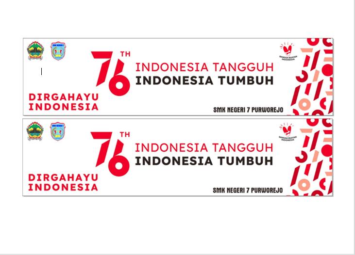 DIRGAHAYU INDONESIA KE 76 DENGAN SEMANGAT PERJUANGAN