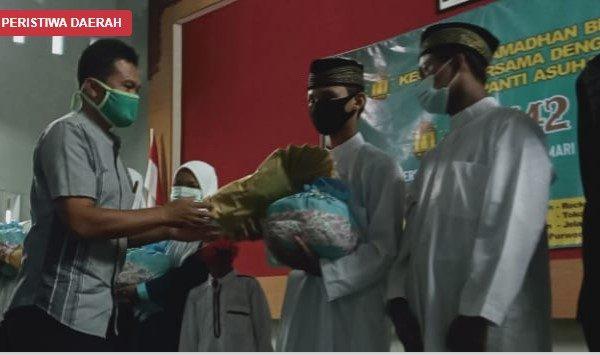 Tingkatkan Solidaritas, OSIS SMKN 7 Purworejo Gelar Ramadhan Berbagi